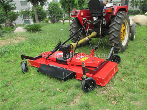 New CE approved pto tractor finishing mower