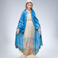 New design blessed virgin mary outdoor statue made in China