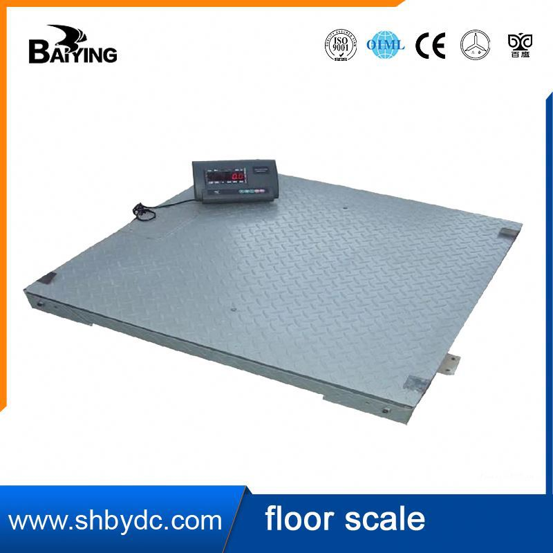 High public praise body weight bluetooth scale pit type platform scale
