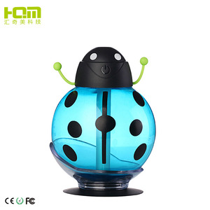 Shenzhen easy home usb mini atomization personal homemade childhood 260ML beetles ultrasonic humidifier for car