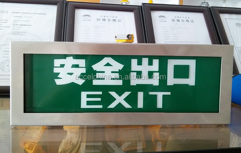 Explosion Proof Led Emergency Exit Light