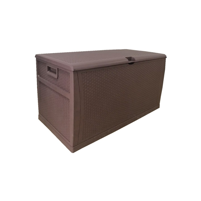 118 Gallon Plastic Outdoor Patio Opslag Container Deck Box & Tuinbank