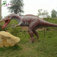 Simulation animatronic dinosaur robot king games for sale