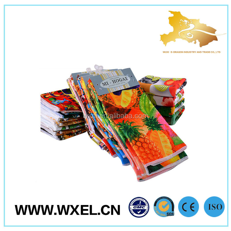 wholesale custom tea towel printing