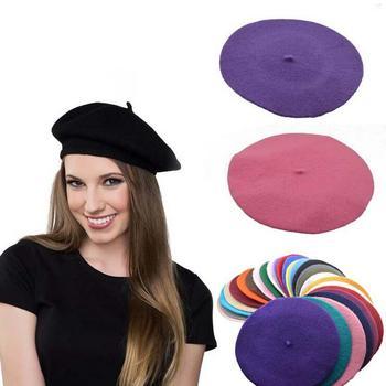Mädchen Sex Winter Casual Wolle Stricken Hüte Für Mädchen Top Hut