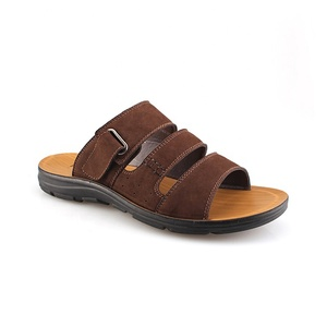 China Factory Italian Mens Leather Sandals, Summer Leather Sandals