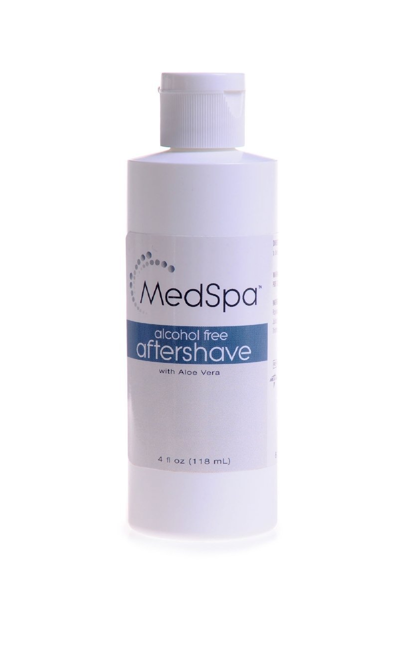 MedSpa Alcohol Free Aftershave ( AFTERSHAVE, 4 OZ ) 1 Each / Each by Med Industries