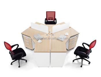 3 personnes vente rond poste de travail bureau buy product on. Black Bedroom Furniture Sets. Home Design Ideas