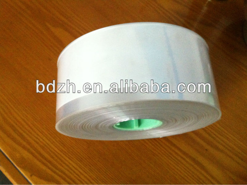 Easy peelable 70mm folded cellophane tosho paper and ink ribbon
