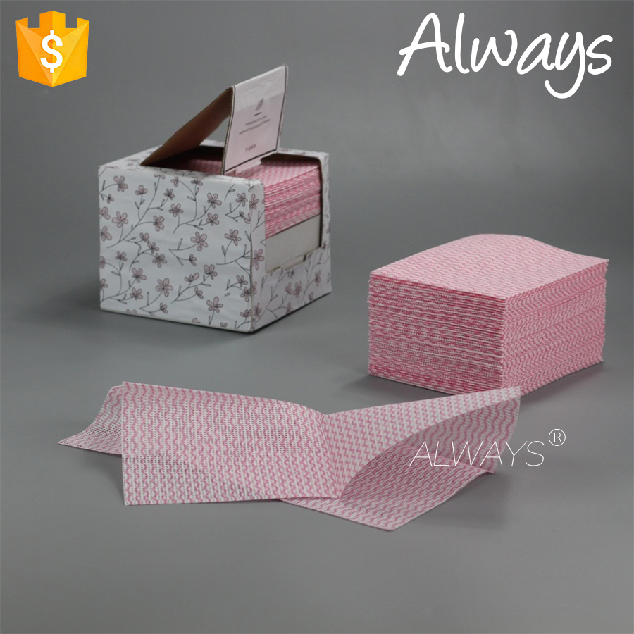Household Nonwoven reusable spunlace nonwoven dry wiping rags