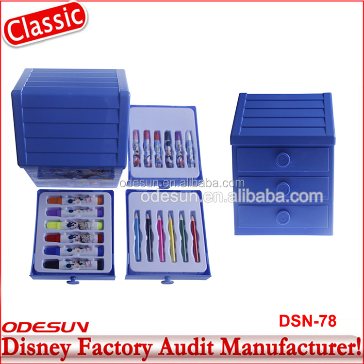 Michaels Sedex FSC Audit and ISO 9001 Factory Audit Manufacturer cheap fancy pen and pencils stationery set