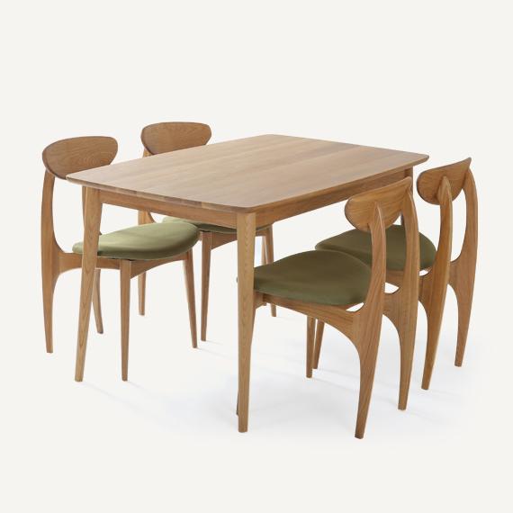 Dodge Furniture Futon Scandinavian Modern Style Square Table Oak Wood Dining Simple Desk In Price On Alibaba