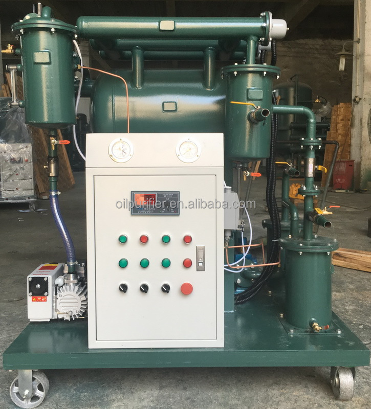 Electric heating oil purifier,aging transformer oil filtration machine