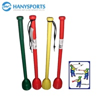 Long stick snow toy for kids outdoor play snowball