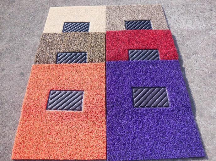 Auto Fußboden Teppich ~ Heißer verkauf pvc spinne spulenmatte auto teppich langlebig