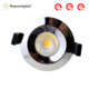 BS476 fixed fire retardant downlights ip65 square fire-proof led cob lighting fixture