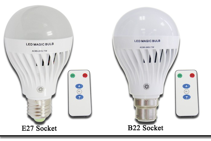 Intelligent Control Emergency Led Bulb 7w 12v Dp Led Rechargeable ...
