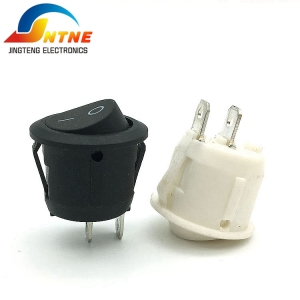 KCD2 round on off without light rocker switch 2 position