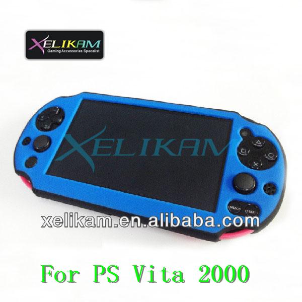 New Design For Ps Vita 2000 Silicone Cove Case For Psv Protective Skin  Cover Case For Ps Vita 2000 Silicone Cover - Buy For Ps Vita 2000 Silicone