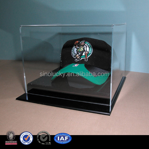 Acrylic Hat Boxes : High tranparency acrylic hat display box buy small