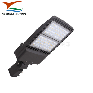 DLC UL cUL 240W LED Street Light 347V Parking Lot LED Fixture Wall Mount Shoebox Light