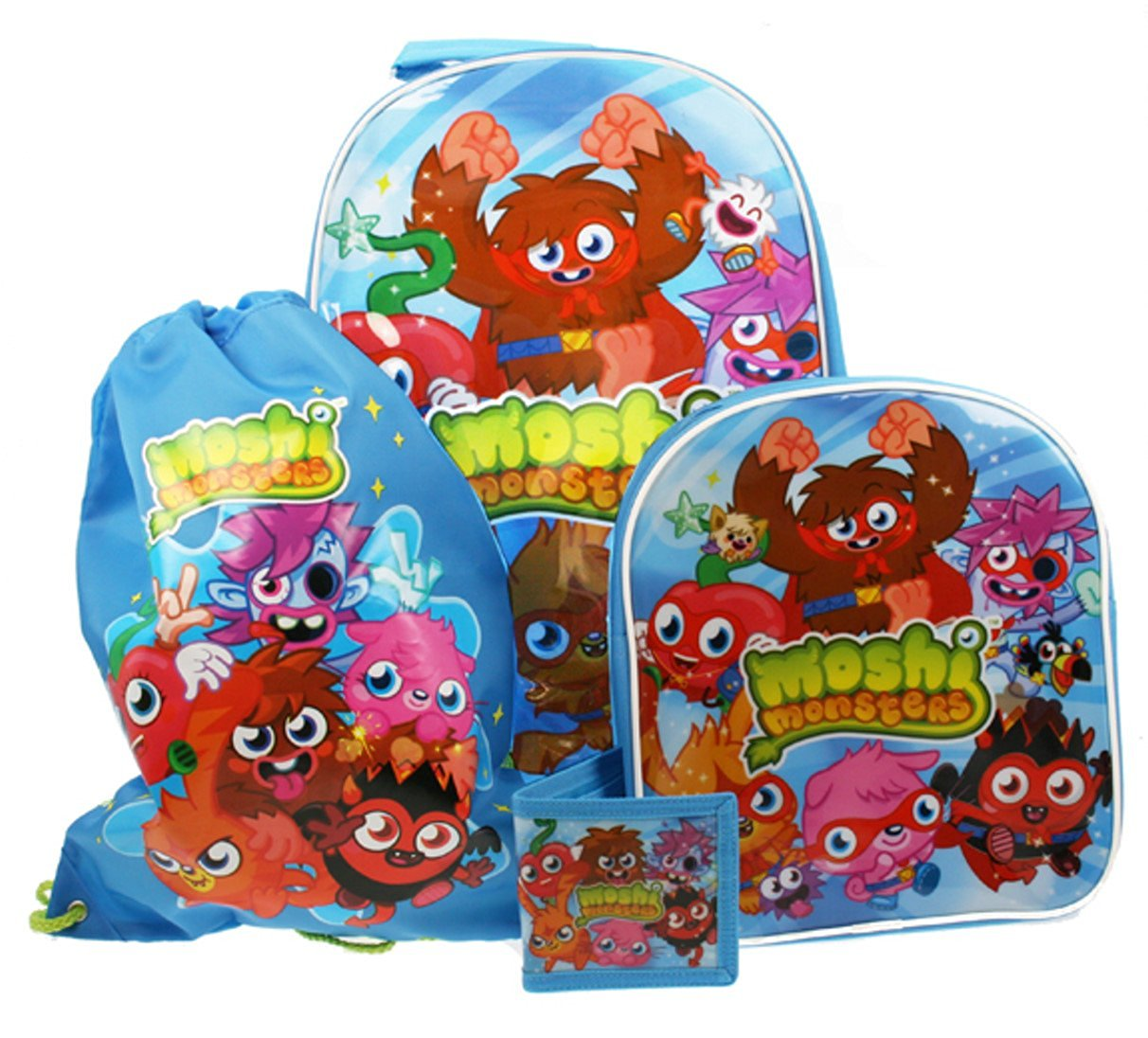 Moshi Monsters Children's 4 Piece Luggage Set