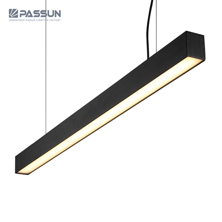 new style d39df 60c72 Modern 20w 1.2m Office Led Linear Pendant Light - Buy Commercial Smd Led  Pendant Lighting,Meeting Dining Room Chandelier Lamp,Simple Style Ceiling  ...