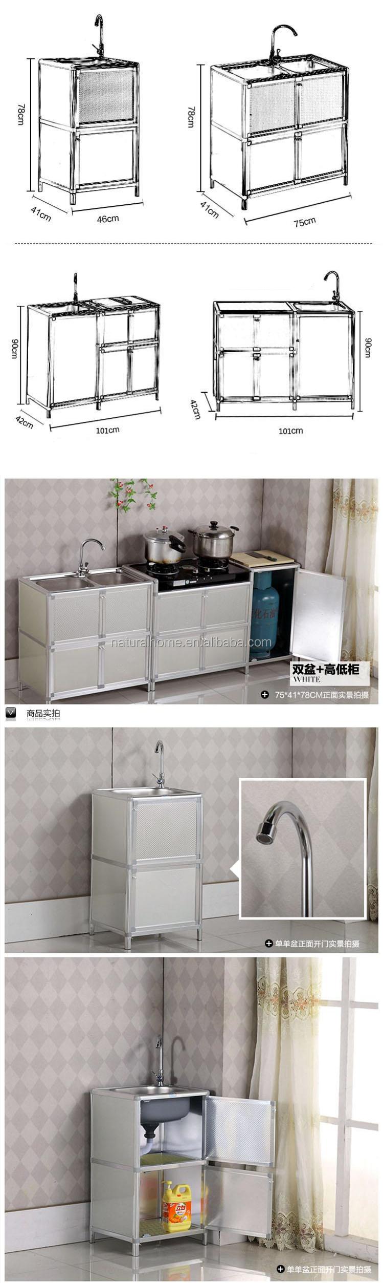 Aluminium Bathroom Cabinets Kitchen Furniture Outdoor Indoor Aluminium Cabinet With Stainless
