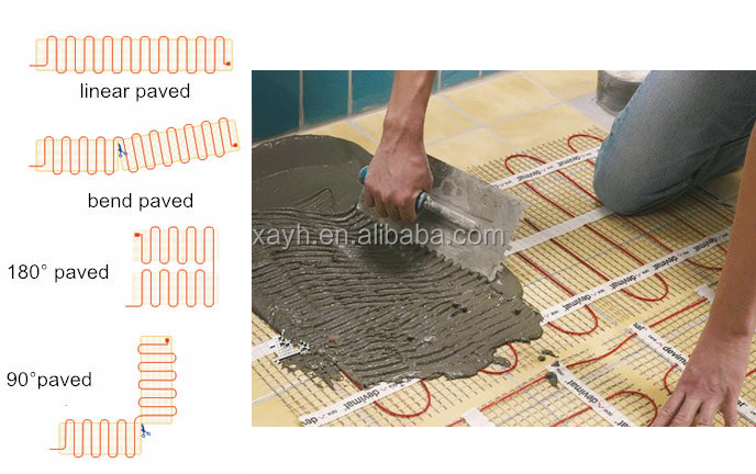 Driveway Defrost Ice/snow Melting Floor Heating Mat/twin Core ...
