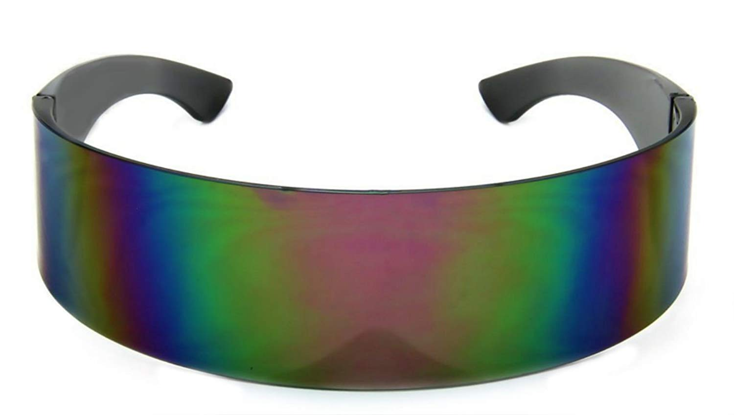 b154000d0f WebDeals - Futuristic Wrap Around Monoblock Cyclops Shield Sunglasses…
