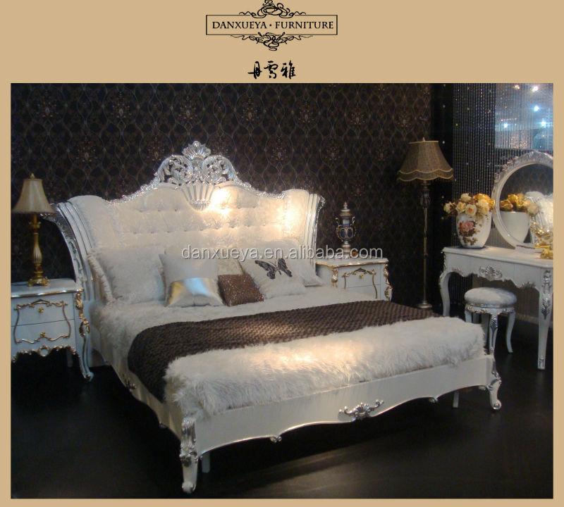 Exotic Bedroom FurnitureMajlis Luxury BedFrench Baroque Bed Sets