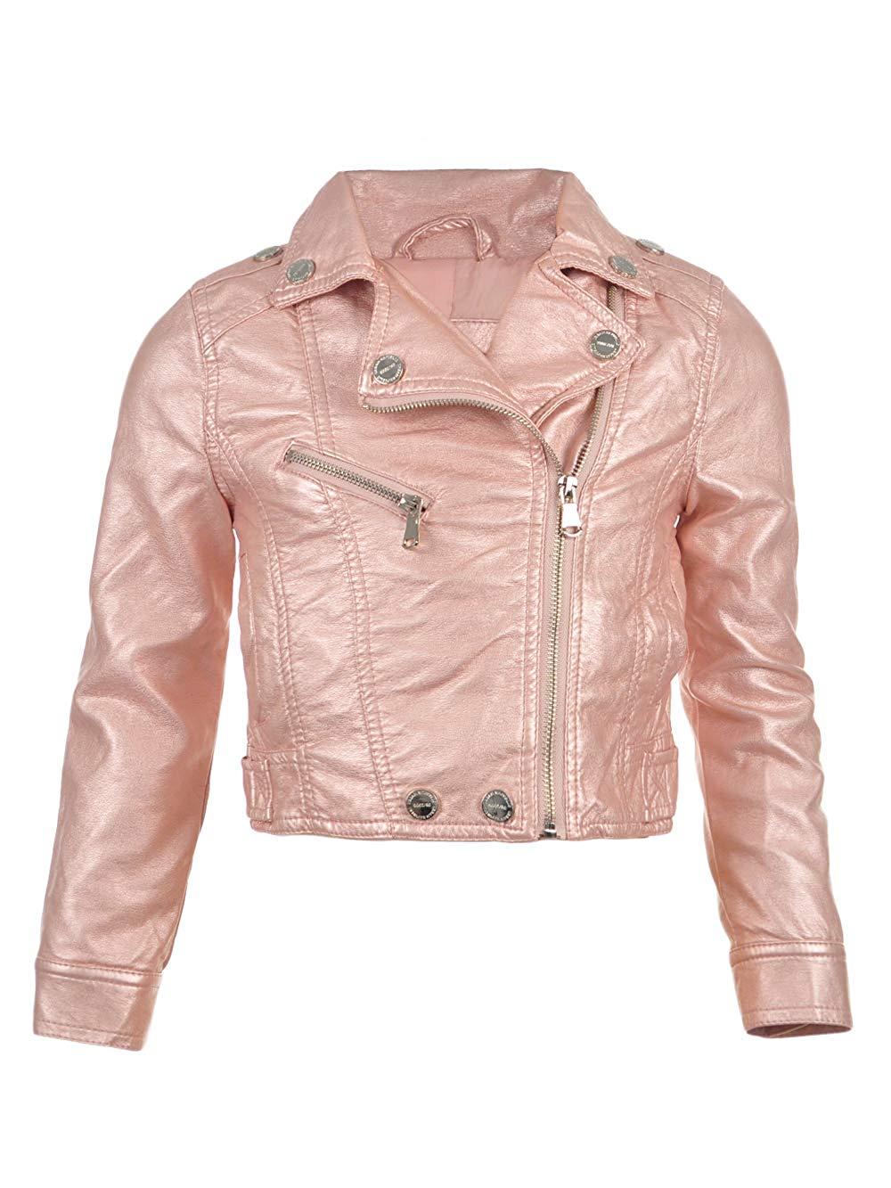 f28ffa3728fc Get Quotations · Urban Republic Baby Girls  Moto Jacket