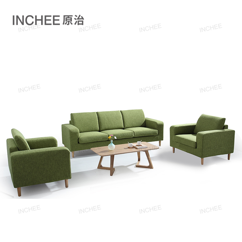 modern living room top fabric <strong>sofa</strong> with solid wood frame