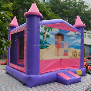 Airtight inflatable bouncer toy, commercial jumping castle for rental business