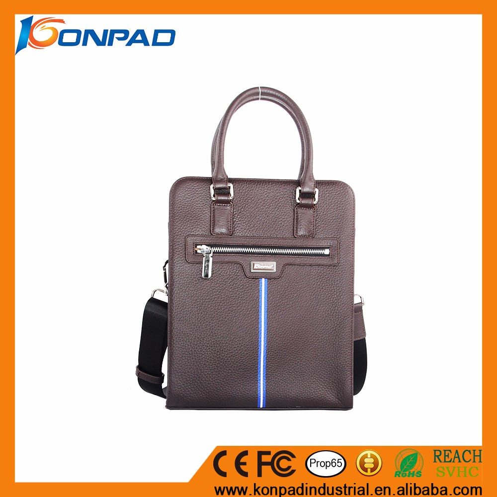 Mens leather hand bag men leather PU Gents bag