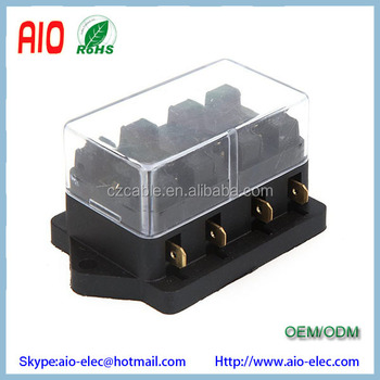 Strange Universal Car Truck Vehicle 12V 4 Way Circuit Automotive Middle Wiring 101 Tzicihahutechinfo