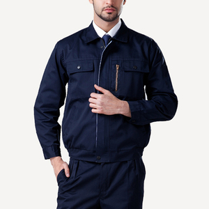 Custom autumn and winter engineering work uniforms long sleeved uniforms
