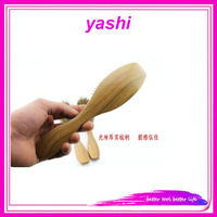 Alibaba Handmade Sandalwood Anti-Static Hair Brush from YASHI