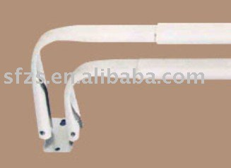 idea of curved best valance window rod rods for and hardware design