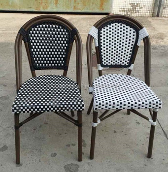 French Bistro Rattan Chair