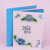 Hot Sale Paper Handmade Thank You Greeting Card