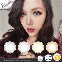 2017 New design Wholesale Glass Ball Design Cosmetic contact lenses Color Contact Lens