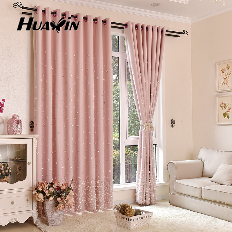 Luxury Embroidery Curtains And Curtain Fabric For Bedding Room And ...