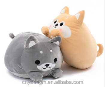 Cartoon Dog Plush Pillow Shiba Inu Toys