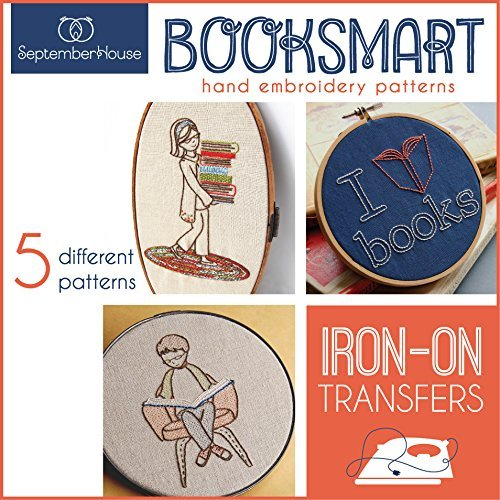 Booksmart Hand Embroidery Patterns Iron On Transfers