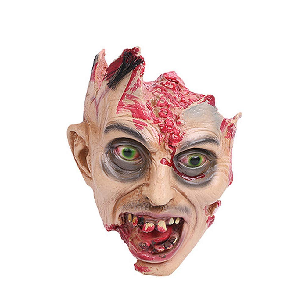 Halloween Scary Decorations Fake Bloody Body Parts Props Severed Cut Off Head AfterSo
