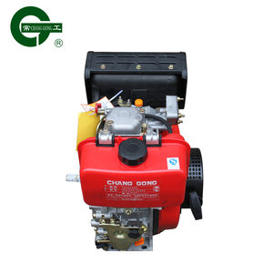 cg192f four-stroke water pump diesel engine with gearbox