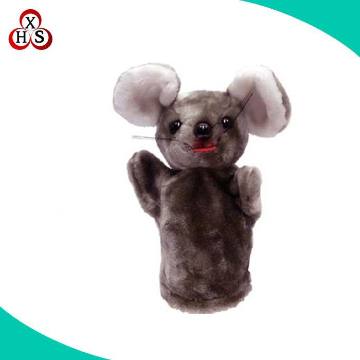 Customized hand puppet theatre, plush puppet education