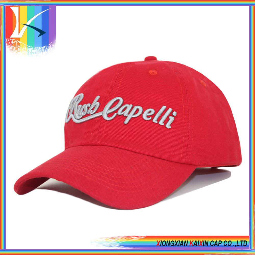 custom 6 panel baseball cap hip hop blank cotton