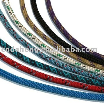 recycle round tips colors polyester jacquard cords